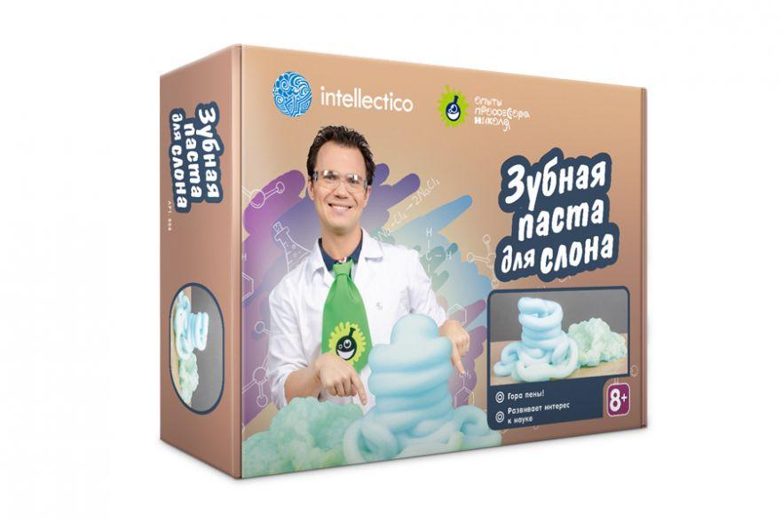 Купить Набор химика - Зубная паста для слона, Intellectico