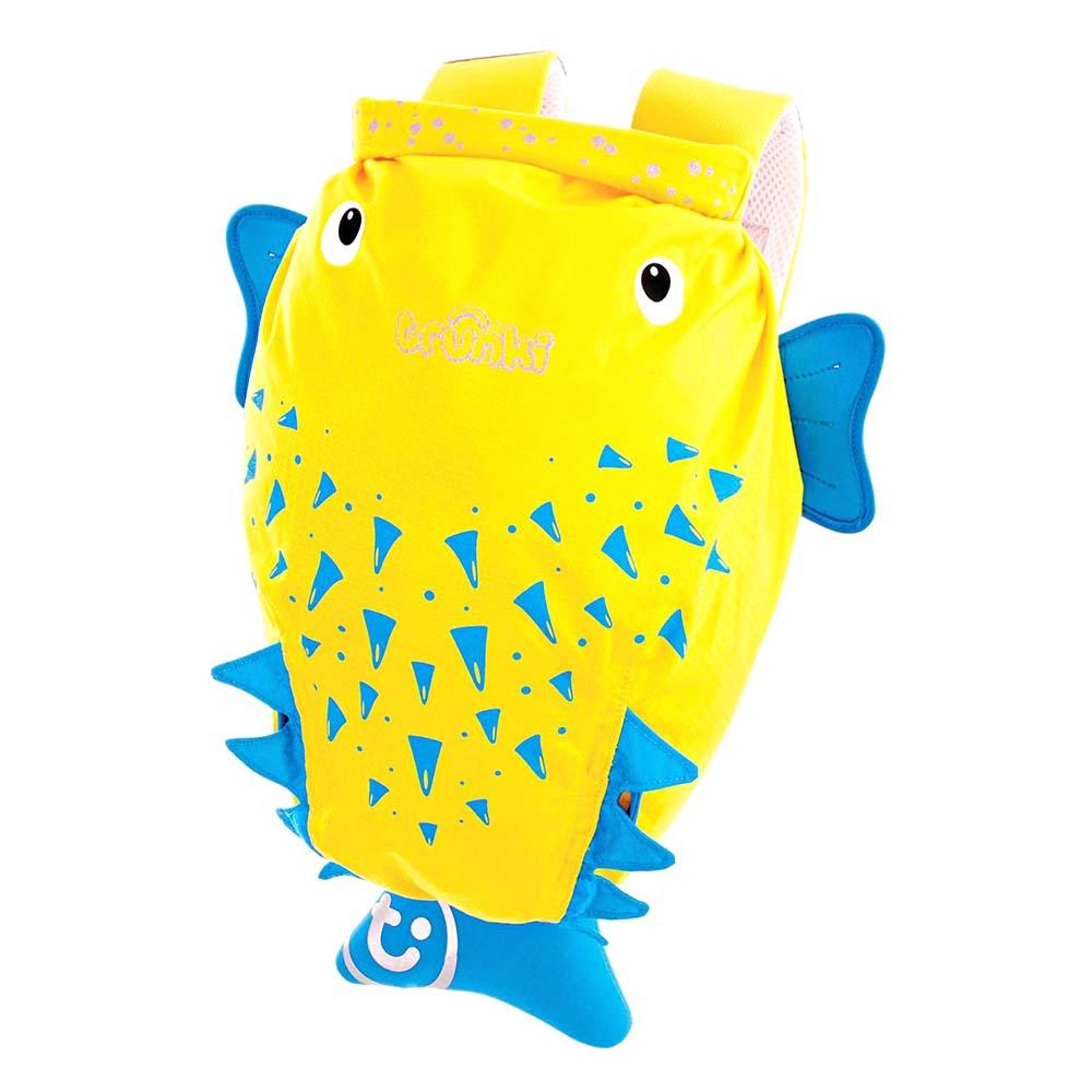 Купить Рюкзак для бассейна и пляжа – Рыба-пузырь, желтый, Trunki