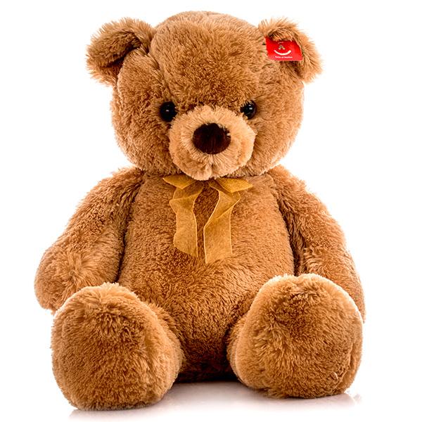 Мягкая игрушка Медведь с бантиком, 80 см.Медведи<br>Мягкая игрушка Медведь с бантиком, 80 см.<br>