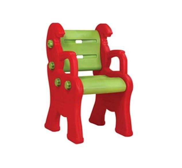 Купить Детский пластиковый стул Королевский, красный, King Kids