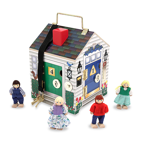 Купить Дом с замками и дверными звонками «Создай свой мир», Melissa&Doug