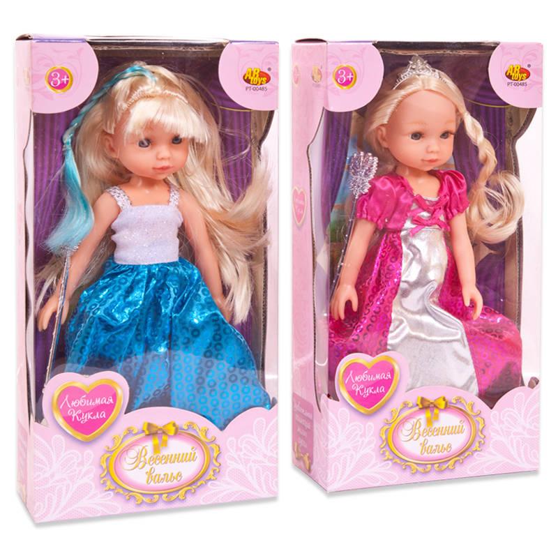 Кукла из серии Весенний Вальс, 2 видаПупсы<br>Кукла из серии Весенний Вальс, 2 вида<br>