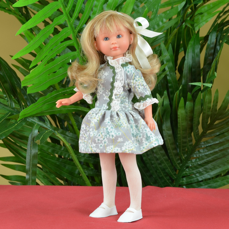 Кукла Селия в зеленом платье, 30 см.Куклы ASI (Испания)<br>Кукла Селия в зеленом платье, 30 см.<br>
