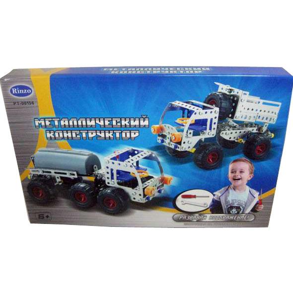 Детский металлический конструктор «Грузовик», 224 детали - Металлические конструкторы, артикул: 11114