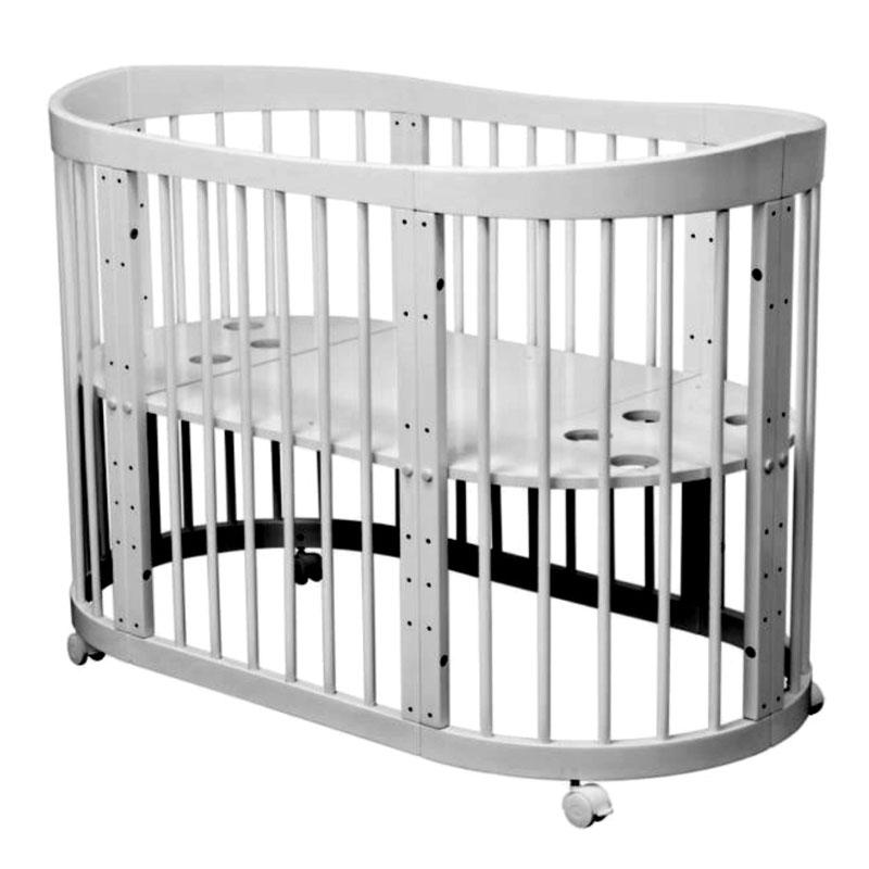 Купить Кровать детская Красная Звезда Паулина-2 С 422, серый, КРАСНАЯ ЗВЕЗДА