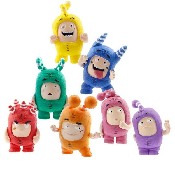 Набор из 7 персонажей – ЧуддикиЧуддики (Oddbods) <br>Набор из 7 персонажей – Чуддики<br>