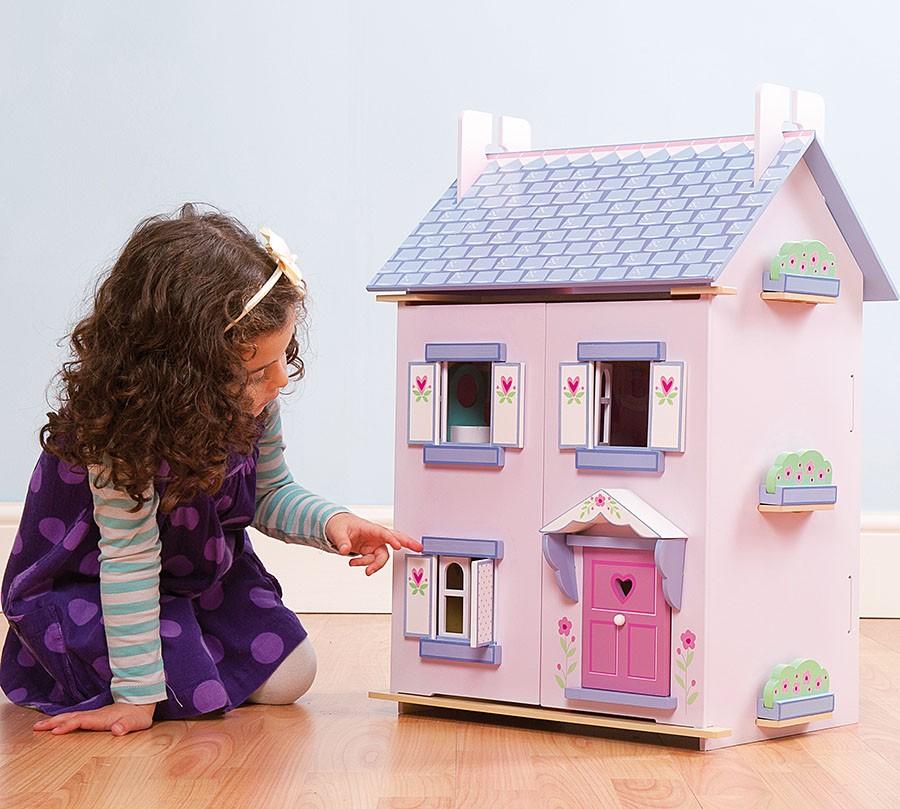 Домик для кукол - ИзабеллаКукольные домики<br>Домик для кукол - Изабелла<br>