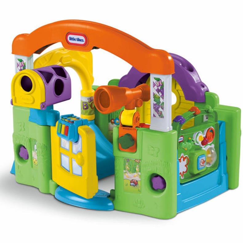 Развивающий игровой центр - Волшебный домикРазвивающие игрушки Little Tikes<br>Развивающий игровой центр - Волшебный домик<br>