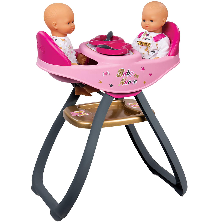 Стульчик для кормления двойняшек  Baby Nurse - Наборы для кормления и купания пупса, артикул: 146287