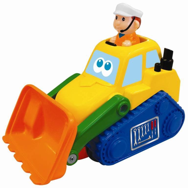 Бульдозер - Машинки для малышей, артикул: 98991