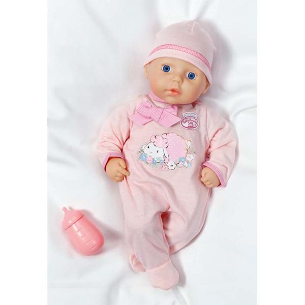 Кукла My First Baby Annabell с бутылочкой, 36 см.Куклы-пупсы Baby Annabell<br>Кукла My First Baby Annabell с бутылочкой, 36 см.<br>