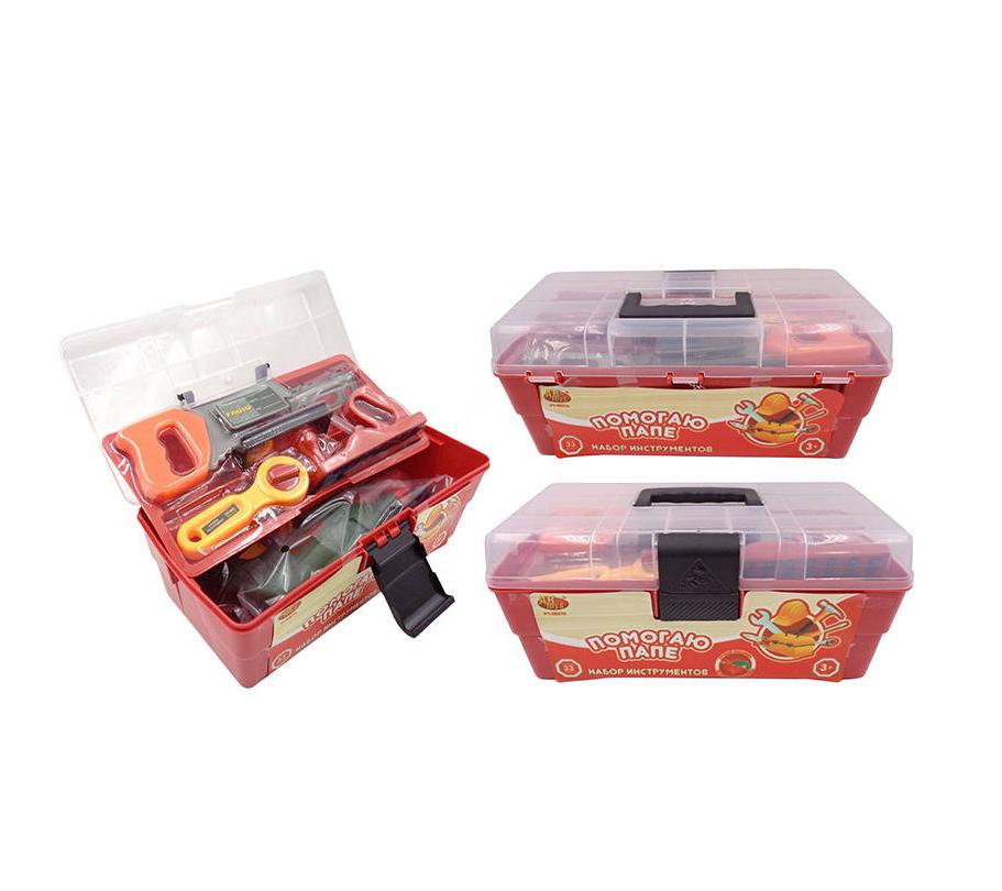 Купить Набор инструментов «Помогаю Папе» в чемодане, 33 предмета, ABtoys