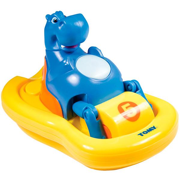 Игрушка для ванной - Бегемот на катамаранеИгрушки для ванной<br>Игрушка для ванной - Бегемот на катамаране<br>