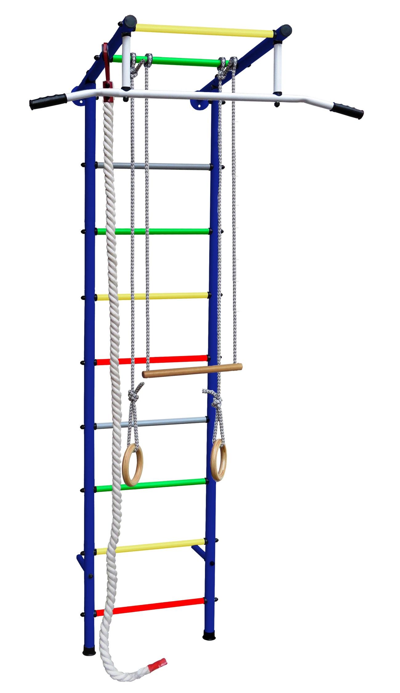 Купить Детский спортивный комплекс Юнга 3.1, цветные перекладины, Вертикаль