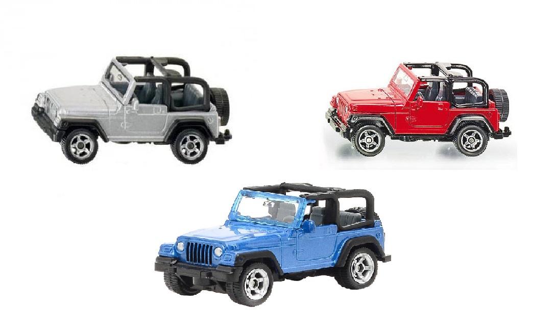 Купить Игрушечная модель - Jeep Wrangler, 1:50, Siku