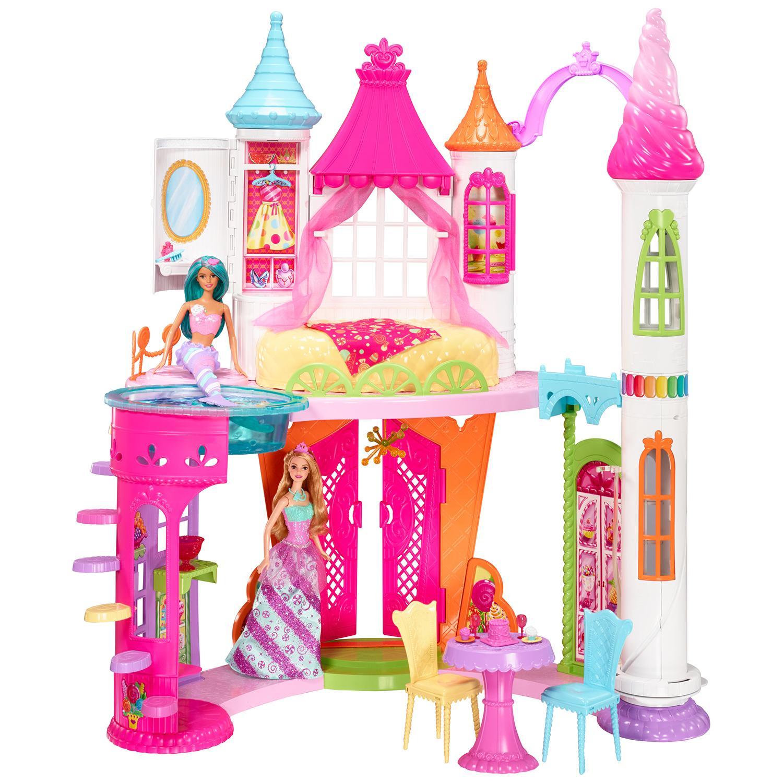 Игровой набор Barbie Конфетный дворецКукольные домики<br>Игровой набор Barbie Конфетный дворец<br>