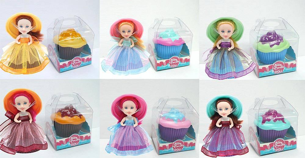 Куколка-капкейк, в индивидуальной подарочной упаковкеПупсы<br>Куколка-капкейк, в индивидуальной подарочной упаковке<br>