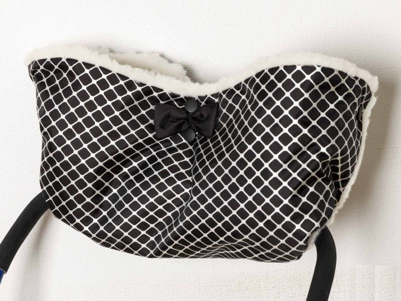 Муфта для санок – New, мех, черный - Зимние товары, артикул: 173552