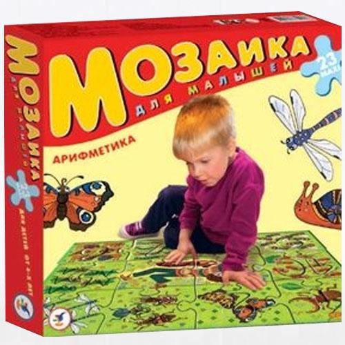 Большая мозаика АрифметикаПазлы для малышей<br>Большая мозаика Арифметика<br>