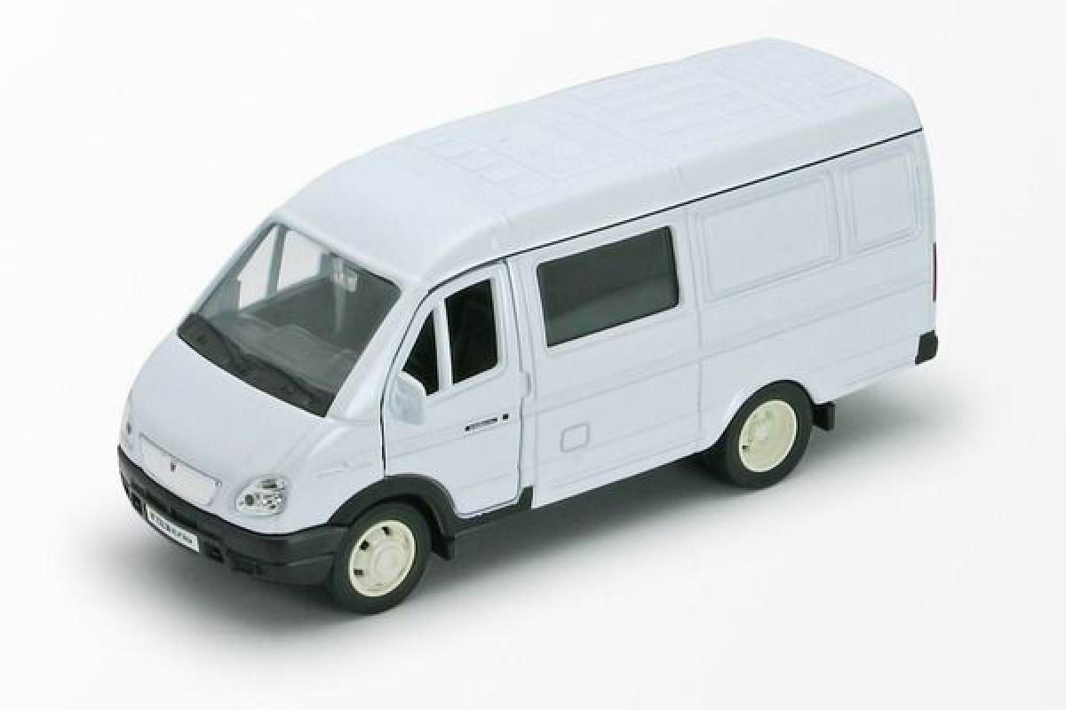 Коллекционная металлическая машинка - Газель фургон, масштаб 1:34-39Газель<br>Коллекционная металлическая машинка - Газель фургон, масштаб 1:34-39<br>