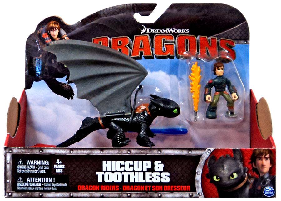 Игровой набор - Дракон и всадник – Беззубик и Иккинг, серия DragonsКак приручить Дракона<br>Игровой набор - Дракон и всадник – Беззубик и Иккинг, серия Dragons<br>