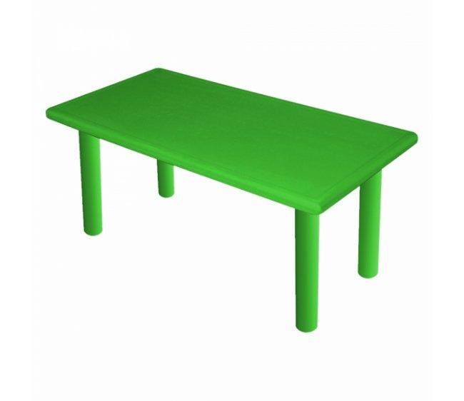 Большой стол - Королевский, пластиковый, цвет зеленый