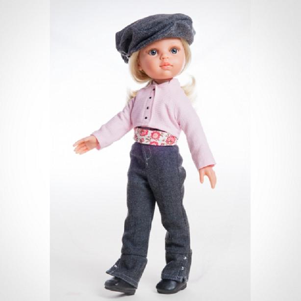 Кукла Клаудия наездница, 32 см.Испанские куклы Paola Reina (Паола Рейна)<br>Кукла Клаудия наездница, 32 см.<br>