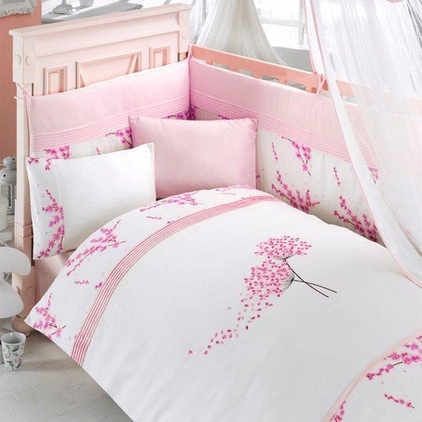 Комплект постельного белья и спальных принадлежностей из 6 предметов серии BlossomДетское постельное белье<br>Комплект постельного белья и спальных принадлежностей из 6 предметов серии Blossom<br>