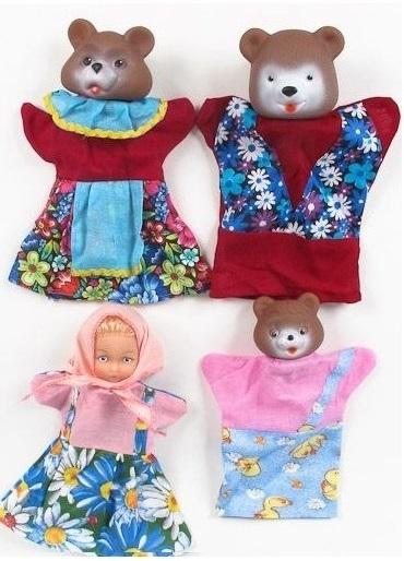 Кукольный театр Три медведя 4 персоныДетский кукольный театр <br>Кукольный театр Три медведя 4 персоны<br>