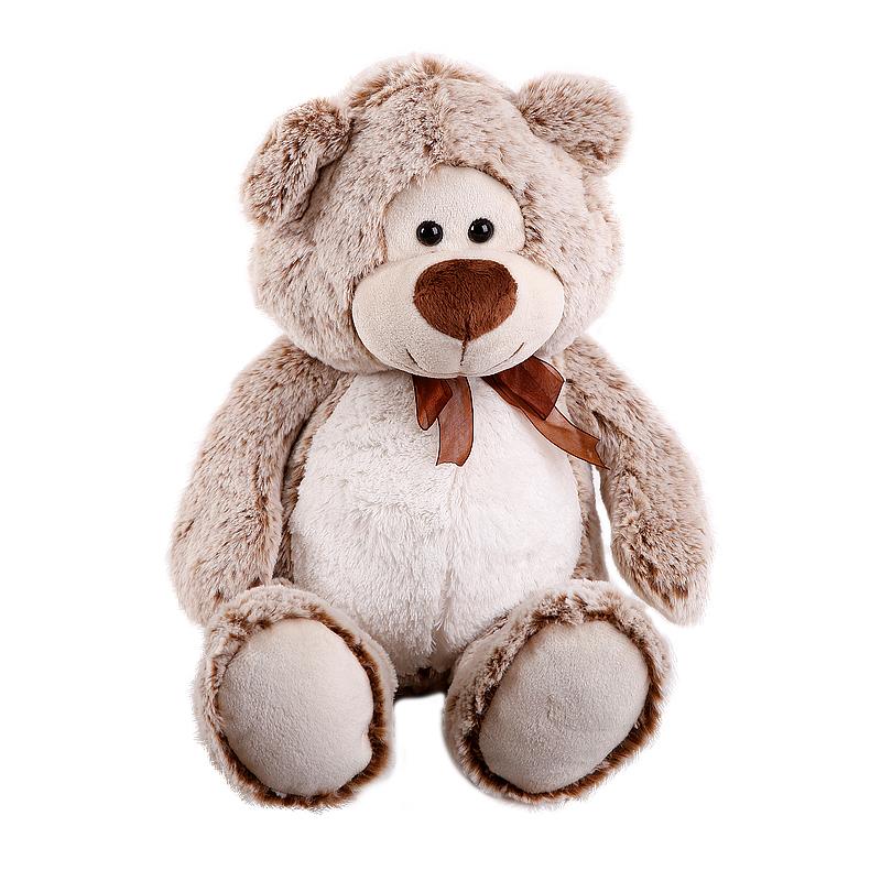 Мягкая игрушка Бежевый Мишка Потап, 40смМедведи<br>Мягкая игрушка Бежевый Мишка Потап, 40см<br>