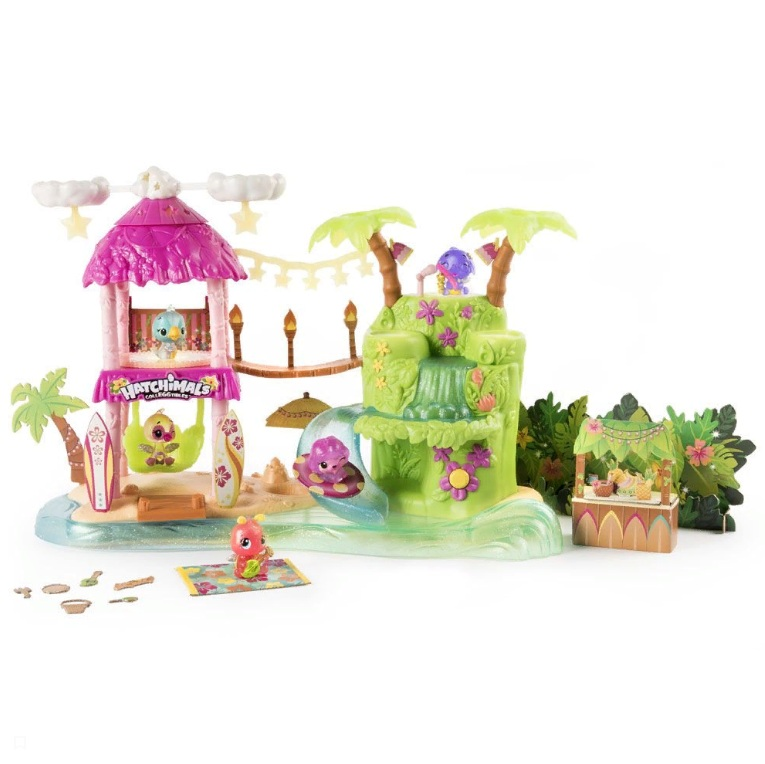 Игровой набор Hatchimals - Тропический остров фото