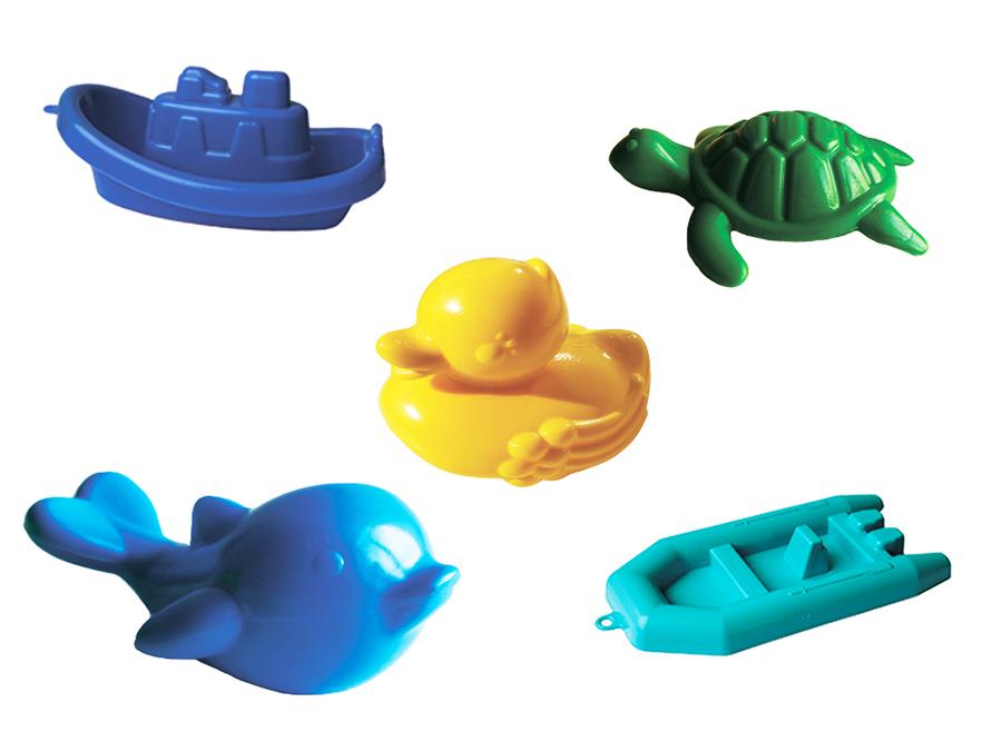Набор для купания 5 предметовРезиновые игрушки<br>Набор для купания 5 предметов<br>