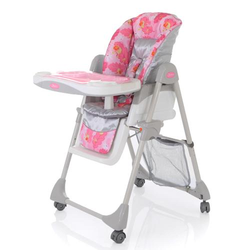 Детский стульчик для кормления Jetem Enjoue FS-1, розовыйСтульчики для кормления<br>Детский стульчик для кормления Jetem Enjoue FS-1, розовый<br>
