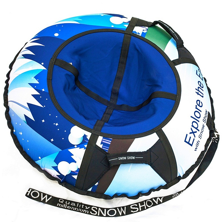 Санки надувные - Тюбинг RT - Айсберг, диаметр 105 смВатрушки и ледянки<br>Санки надувные - Тюбинг RT - Айсберг, диаметр 105 см<br>