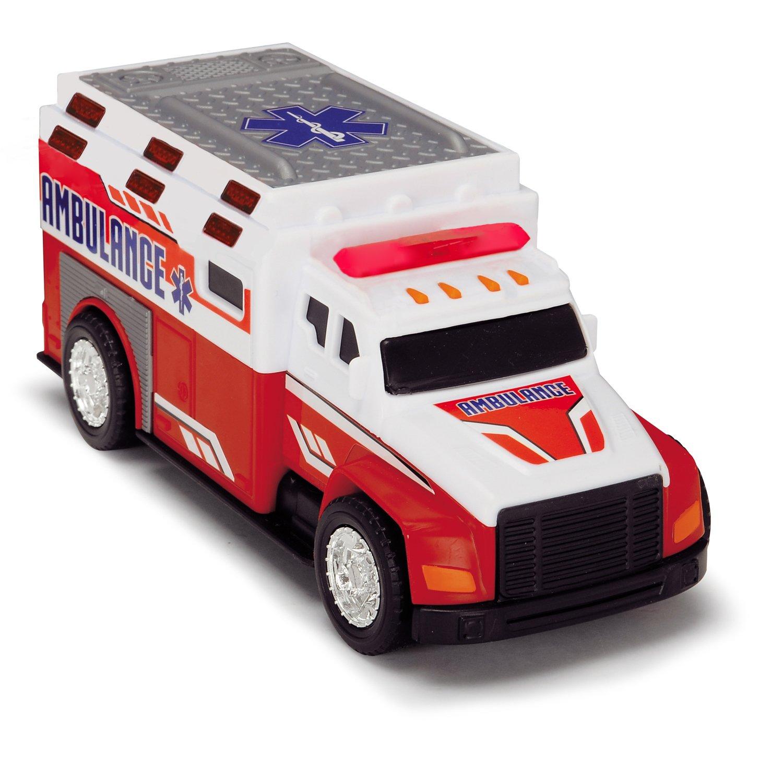 Купить Машинка - Скорая помощь, свет и звук, 15 см., Dickie Toys