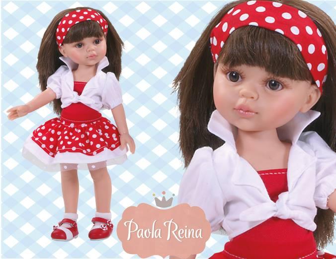 Кукла Кэрол, 32 смИспанские куклы Paola Reina (Паола Рейна)<br>Кукла Кэрол, 32 см<br>