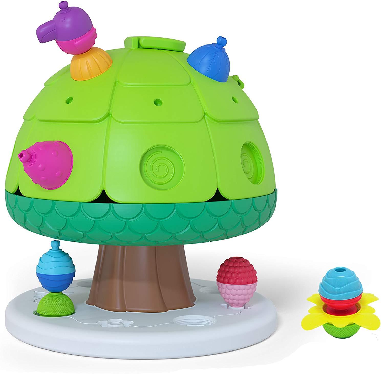 Игрушка развивающая Lalaboom - Дерево со звуковыми эффектами с аксессуарами, 8 предметов