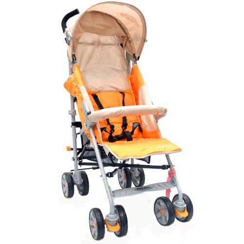Коляска трость Polo 107, Light OrangeДетские коляски Capella Jetem, Baby Care<br>Коляска трость Polo 107, Light Orange<br>