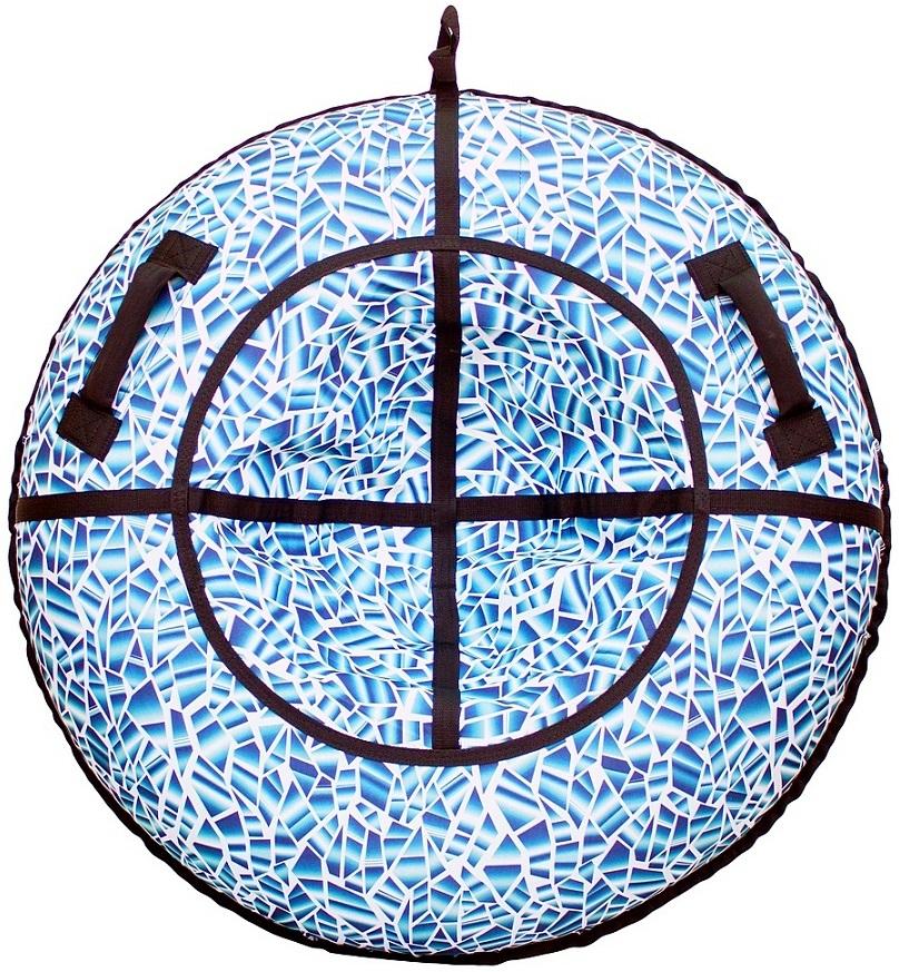 Санки надувные - Тюбинг RT - Осколки горного хрусталя, диаметр 118 смВатрушки и ледянки<br>Санки надувные - Тюбинг RT - Осколки горного хрусталя, диаметр 118 см<br>