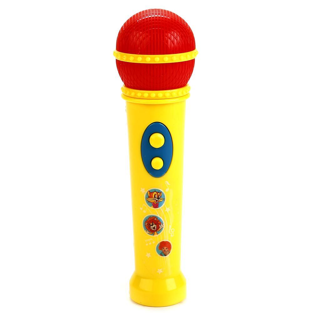 Купить Микрофон с 20 песнями из мультфильмов, русифицированный sim), Умка