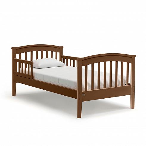 Купить Подростковая кровать - Nuovita Perla lungo, Noce scuro/Темный орех