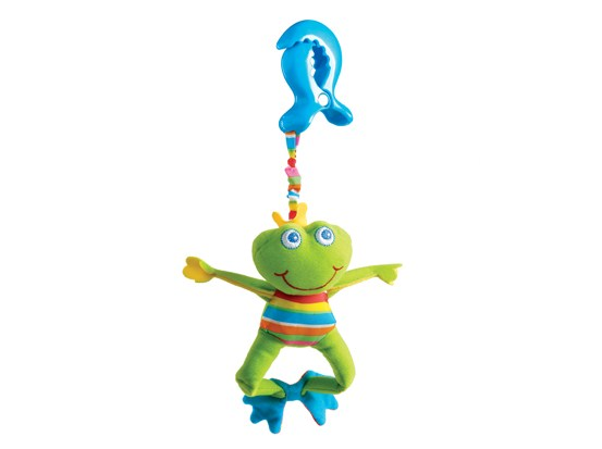 Развивающая игрушка  Лягушонок Френки  - Детские погремушки и подвесные игрушки на кроватку, артикул: 19178