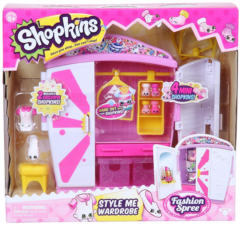 Набор Shopkins - Модный гардеробShopkins (Шопкинс)<br>Набор Shopkins - Модный гардероб<br>
