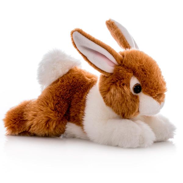 Игрушка мягкая – Кролик коричневый, 28 см. от Toyway