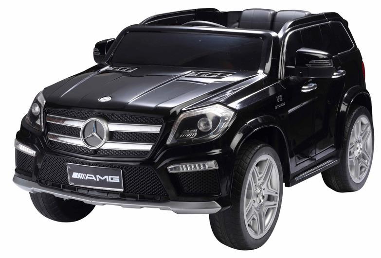 Электромобиль Mercedes-Benz GL63 черный