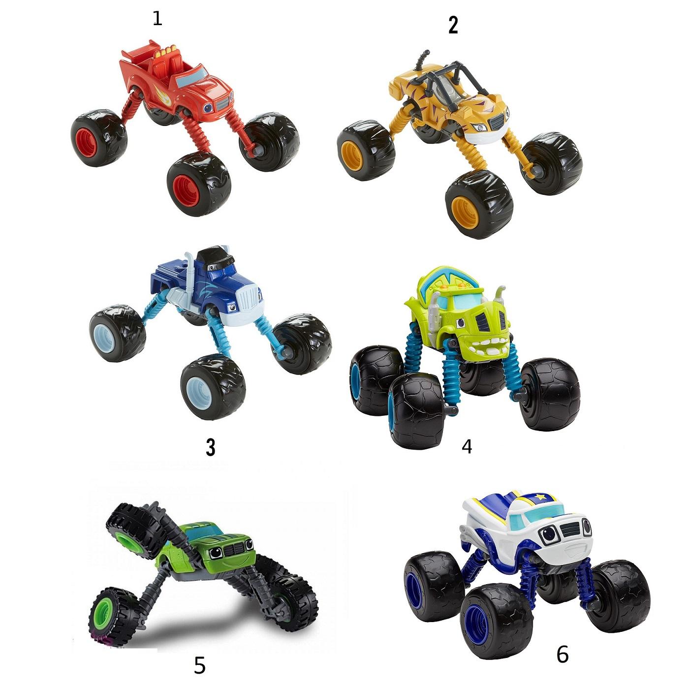 Машинки из серии Вспыш и чудо машинки, 6 видовВспыш и чудо-машинки<br>Машинки из серии Вспыш и чудо машинки, 6 видов<br>