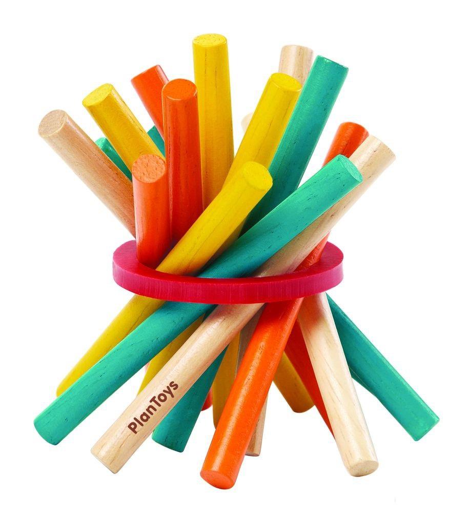 Купить Игра Микадо с разноцветными деревянными палочками, Plan Toys