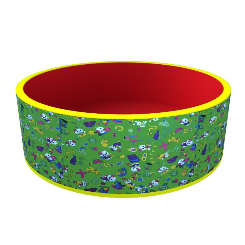 Купить Сухой бассейн Веселая поляна ДМФ-МК-02.51.03, без шариков, Romana (Романа)