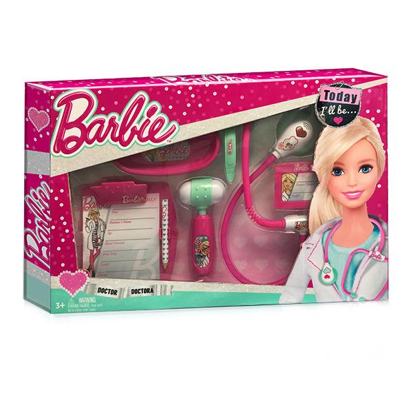 Игровой набор юного доктора из серии Barbie с планшетом и стетоскопом, средний