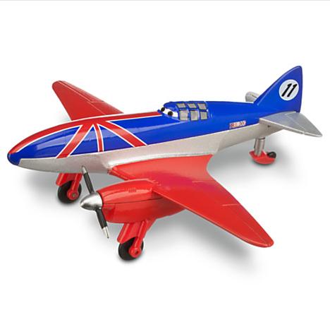 Planes Disney. Коллекционная модель самолета Bulldog, металл - Самолеты Disney (Planes), артикул: 33685